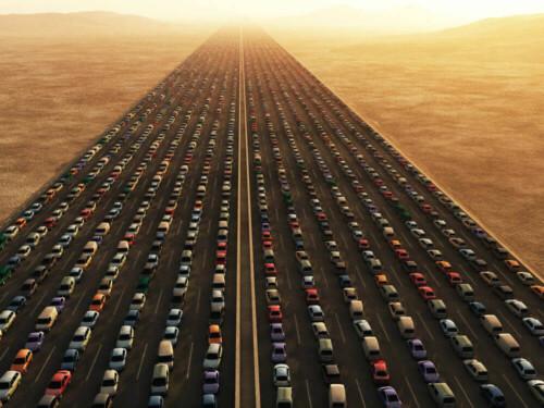 traffic-desert-highway-transport-collapse