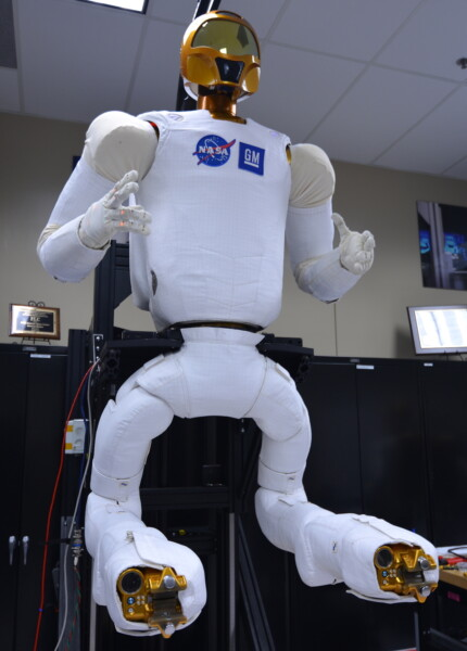 Robonaut 2 with new legs