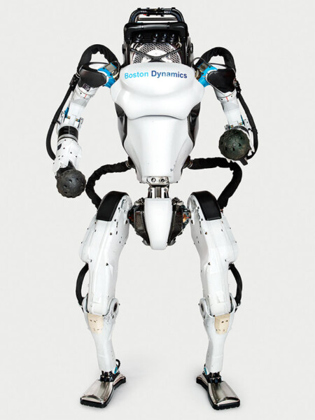 Boston Dynamics' Atlas robot standing