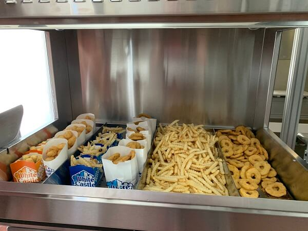 Flippy fast food robot items cooked White Castle